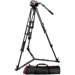 ONEWAY LOCATION AVIGNON PIED VIDEO TETE FLUIDE MANFROTTO 546GB + TETE 504 HD